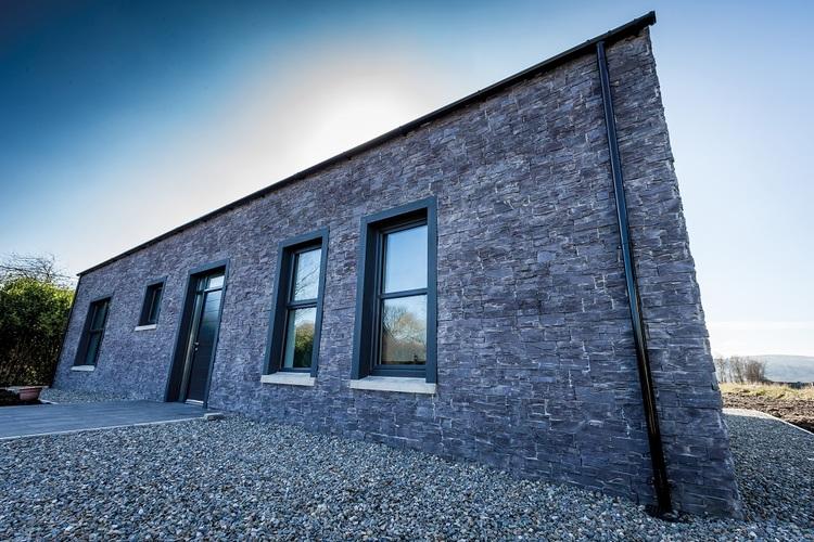 Restparti Stenpanel Heather 30-32 m²