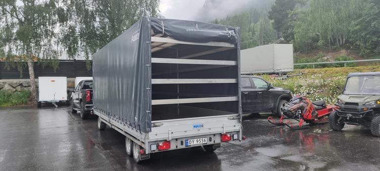 Leie varehenger/biltransporter/kombi