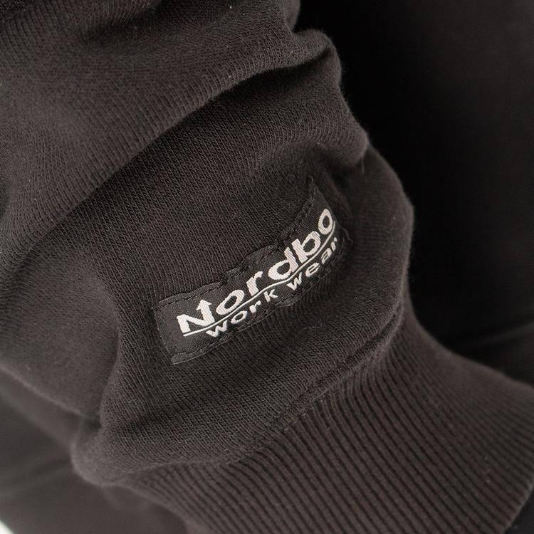 Nordbo Workwear Hoodie Svart