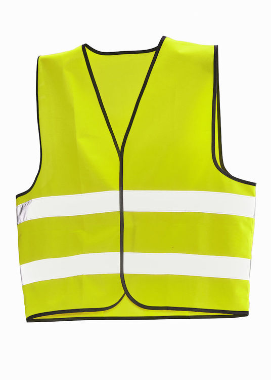 Jobman Workwear Varselväst 10-pack Gul 7590