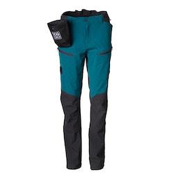 DogCoach Summer Pants Women Petroleum
