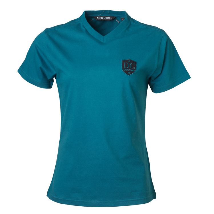 DogCoach T-shirt Women Petroleum