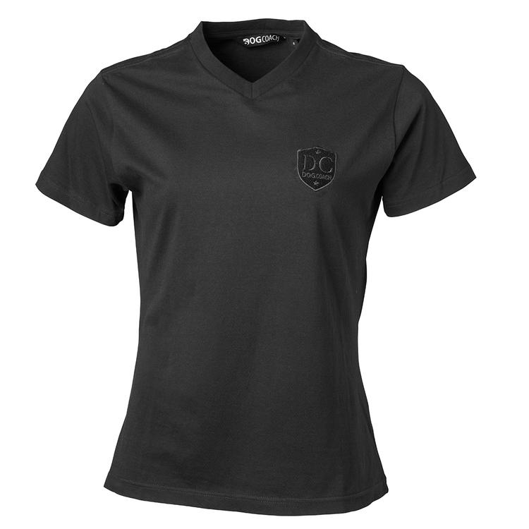 DogCoach T-shirt Women Grey/Black