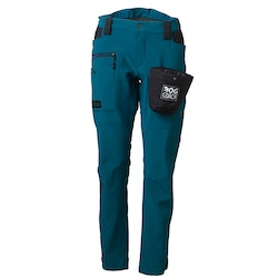 DogCoach Winterpants Women Petroleum Short