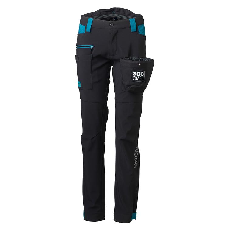DogCoach Winterpants Women Black Short