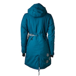 DogCoach Winterjacket Women Petroleum