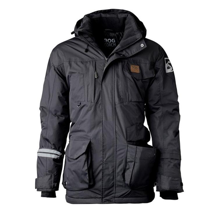 DogCoach Winterjacket Men Anthracite/Grey