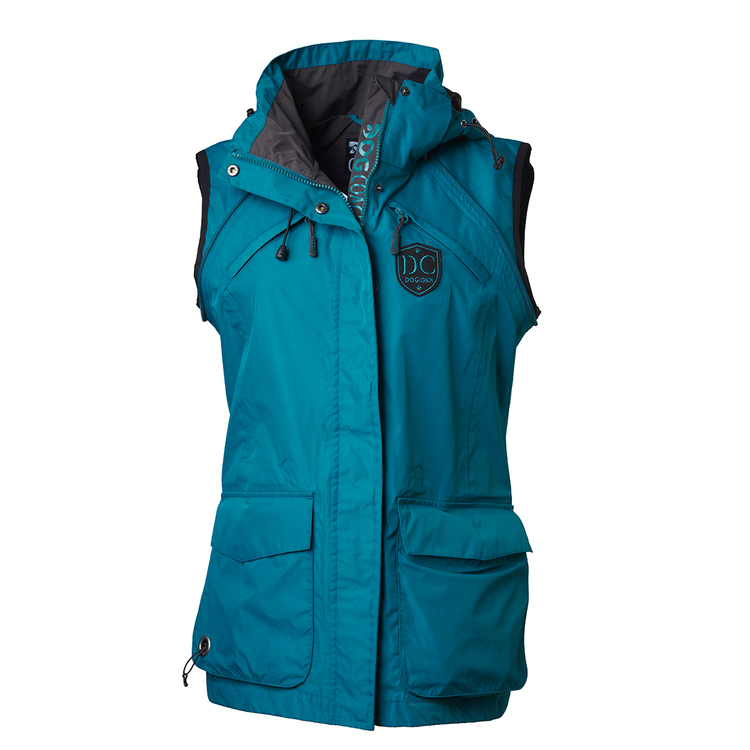 DogCoach Summer Jacket Women Petroleum