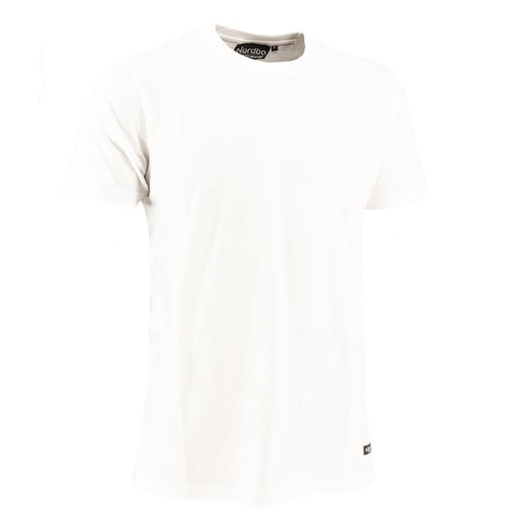 Nordbo Workwear T-shirt Vit