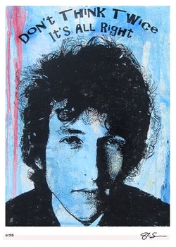 BOB DYLAN - Don't Think Twice - 50x70 cm