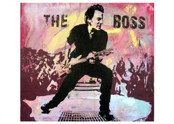BRUCE SPRINGSTEEN - The Boss  - 50x70 cm