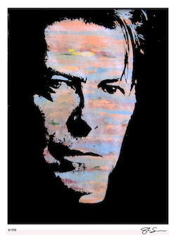 DAVID BOWIE - Face - 50x70 cm