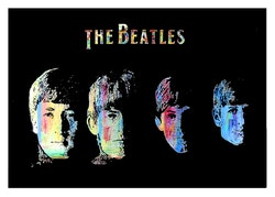 BEATLES - Four Heads
