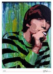 BEATLES - John Lennon - Stripes