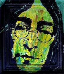 JOHN LENNON - Green - 62x75 cm