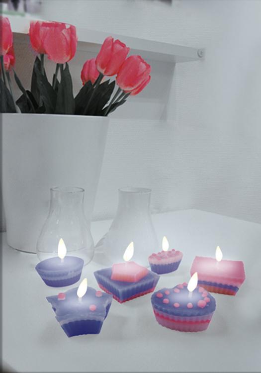 SES Creative gör dina egna doftljus i 16 delar