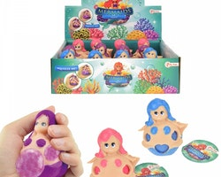 Toi-Toys Mermaid stressboll blå 8 cm
