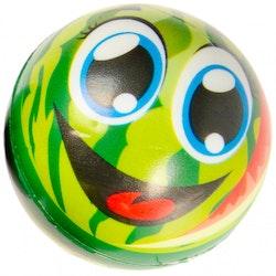 LG-Imports anti-stress boll Vattenmelon junior 6,5 cm skumgrön