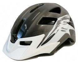Mirage cykelhjälm Allround 58-65 cm svart / vit