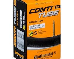 """Continental Lättvikts MTB Slang 29""""1.75-2.4"""" Racer Ventil 60 MM"""