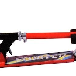 Johntoy Sports Aktiv sparkcykel Flickor Fotbroms Röd