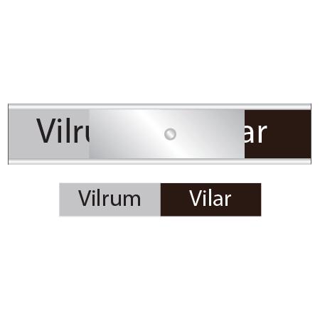 Skylten till vilrummet - Vilrum / Vilar