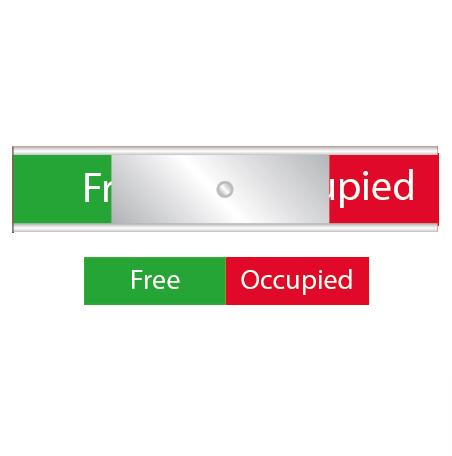 Skylten - Free / Occupied