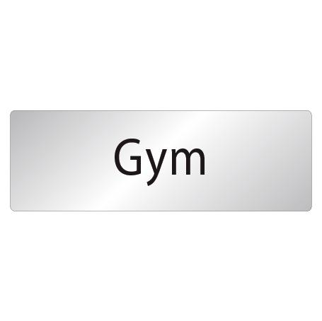 Skylt Gym