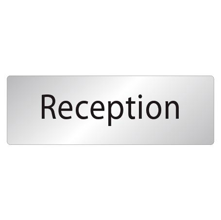 Skylt Reception