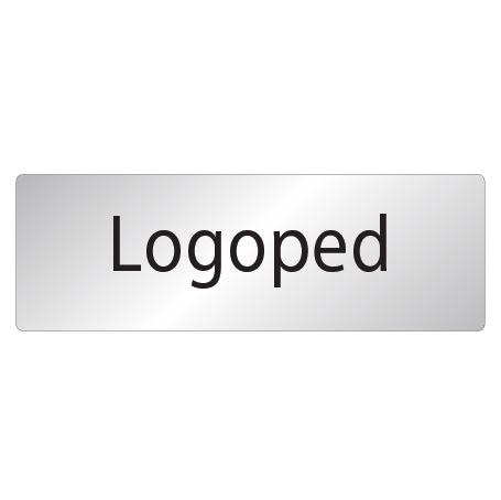 Skylt Logoped