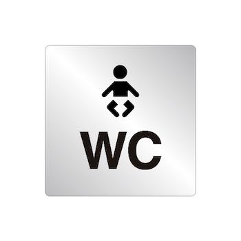 Skylt WC Skötrum