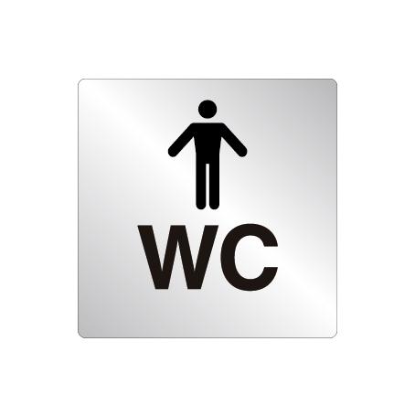 Skylt WC Herr