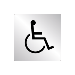 Skylt WC Handikapp