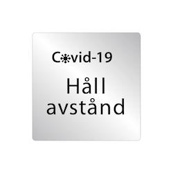 Covid Håll avstånd