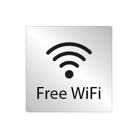 Skylt Free WiFi