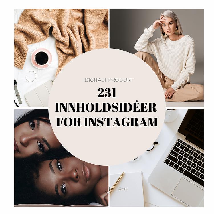 231 Innholdsidéer for Instagram