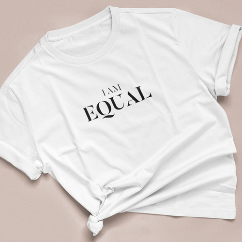 I Am Equal Tee - Black