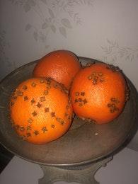 Apelsin konstgjord