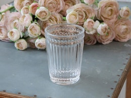 Tandborstmugg Glas