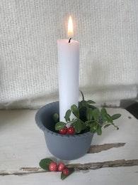 Liten ljusstake i skål modell