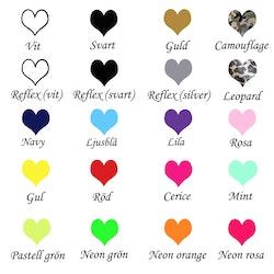 Namn/ord olika storlekar 8-10cm Stryka på