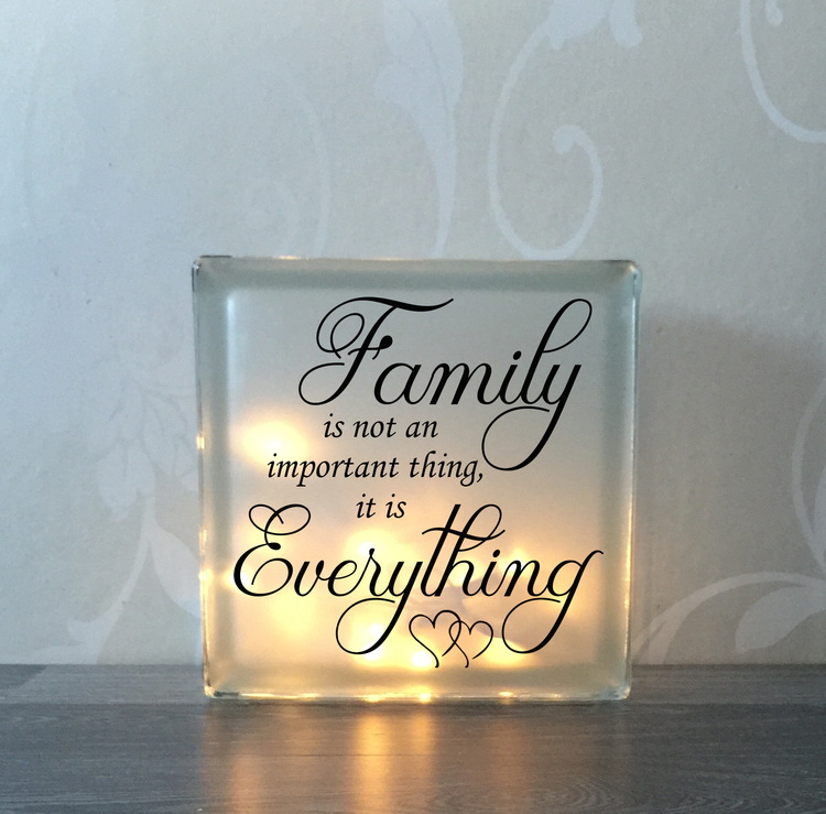 Glasblock Family 1