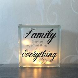 Glasblock Family 2