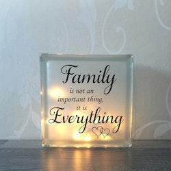 Glasblock Family 3