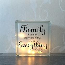 Glasblock Family 4