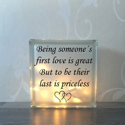 Glasblock First love