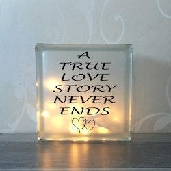 Glasblock True love story