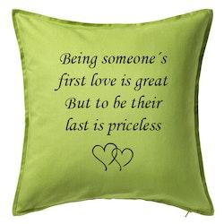 Kuddfodral First love