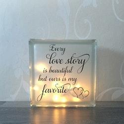 Glasblock Love story