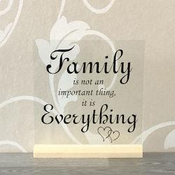 Glasplatta Familj alt 3
